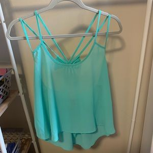 Rue21 Mint Green Crop Top